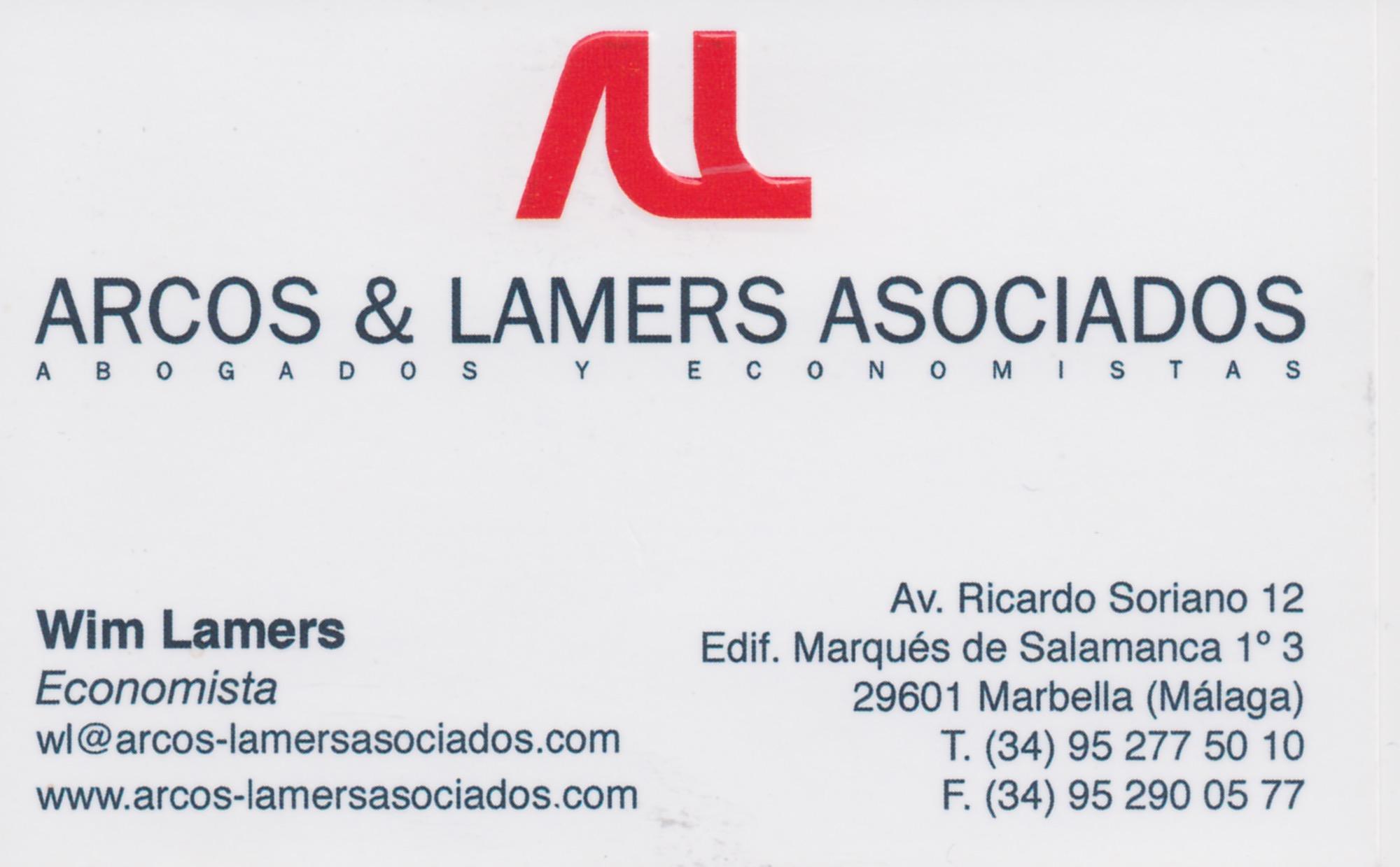 Arcos-wim lamers
