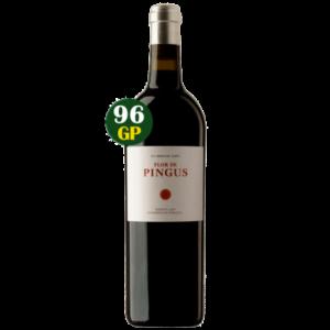 fles Pingus wijn