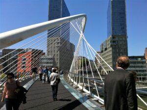 Calatrava brug Bilbao